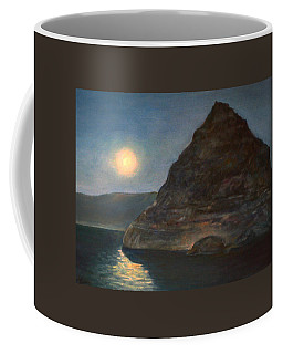 Moonlight On Pyramid Lake Coffee Mug