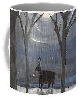 Moonlight On Snow Coffee Mug