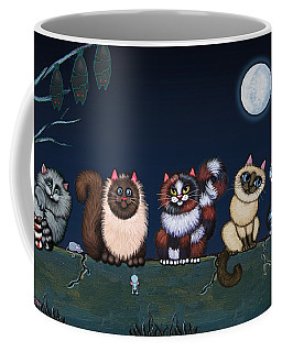 Moonlight On The Wall Coffee Mug