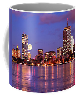 Moonlit Boston On The Charles Coffee Mug