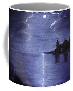 Moonlit Lake Coffee Mug
