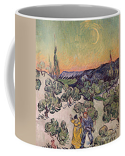 Moonlit Landscape Coffee Mug
