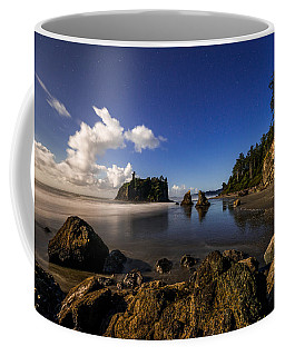 Moonlit Ruby Coffee Mug