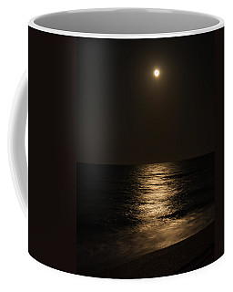 Moon Over Water Coffee Mug by John M Bailey
