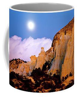 Moonrise Over The Kaiparowits Plateau Utah Coffee Mug