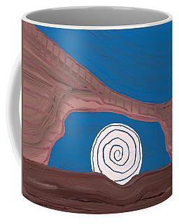 Moonscape Original Painting Coffee Mug