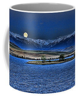Moonset Over Cooney Coffee Mug