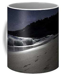 Moonshine Beach Coffee Mug by Brent L Ander