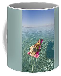 Moorea Woman Floating Coffee Mug