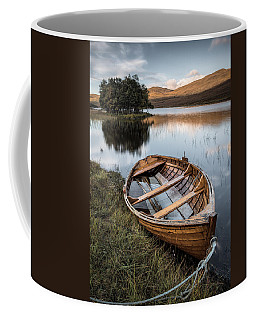 Moored On Loch Awe Coffee Mug