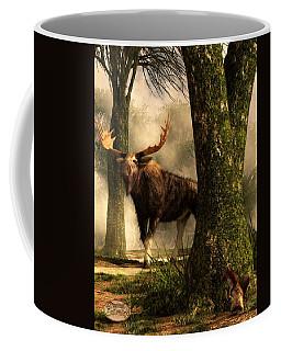 Moose And Squirrel Coffee Mug