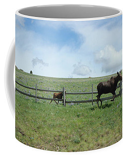 Moose On The Move Coffee Mug