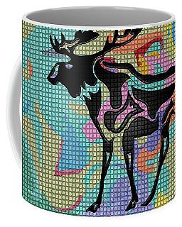Moose Tracks Coffee Mug by Robert Margetts