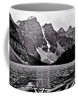 Moraine Lake Coffee Mug by Linda Bianic
