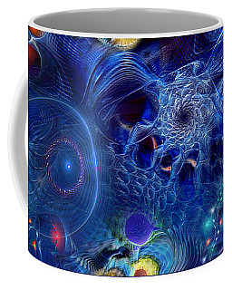 Coffee Mug featuring the digital art More Things In Heaven And Earth by Casey Kotas