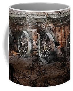 Coffee Mug featuring the photograph More Wagons East by Gunter Nezhoda