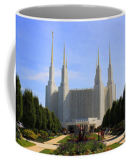 Mormon Temple Dc Coffee Mug by Patti Whitten