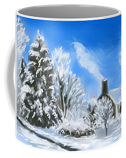 Morning After The Snowstorm  Coffee Mug
