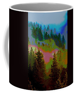 Morning Arrives In The Pacific Northwest Coffee Mug