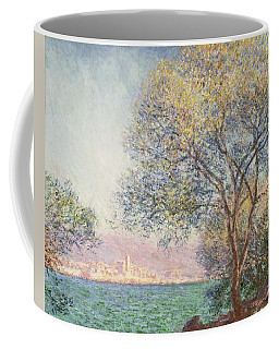 Coffee Mug featuring the painting Morning At Antibes by Claude Monet