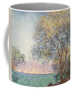 Morning At Antibes Coffee Mug by Claude Monet