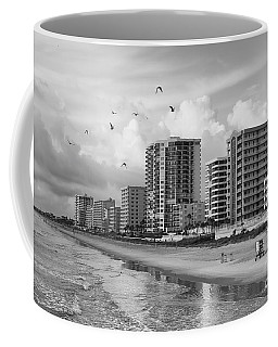 Morning At Daytona Beach Coffee Mug