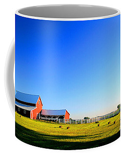 Morning At The Farm Coffee Mug by Steven Reed
