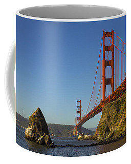 Morning At The Golden Gate Coffee Mug