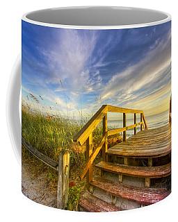 Morning Beach Walk Coffee Mug