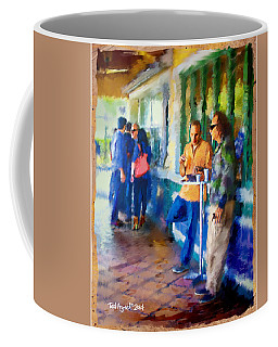 Morning Cafe Con Leche Break Coffee Mug by Ted Azriel