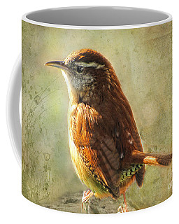 Morning Carolina Wren Coffee Mug
