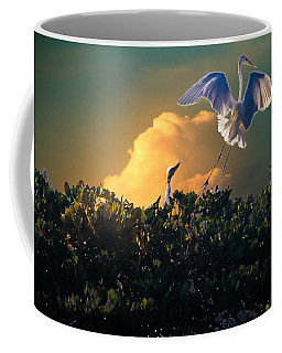 Morning Egret Coffee Mug