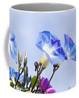 Morning Glory Flowers Coffee Mug