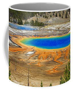 Grand Prismatic Geyser Yellowstone National Park Coffee Mug