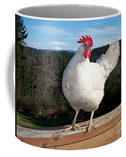 Coffee Mug featuring the photograph Morning Greeting by Chalet Roome-Rigdon