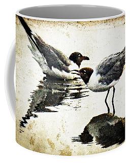Morning Gulls - Seagull Art By Sharon Cummings Coffee Mug