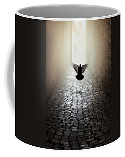 Morning Impression With A Dove Coffee Mug