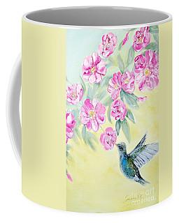 Morning In My Garden. Card Coffee Mug
