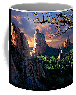 Morning Light At The Garden Of The Gods Coffee Mug