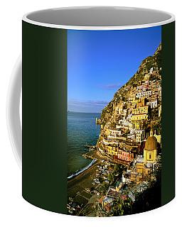 Morning Light Positano Italy Coffee Mug