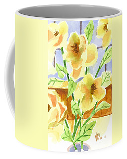 Coffee Mug featuring the painting Morning Magnolias 2 by Kip DeVore