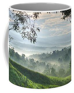 Morning Mist Coffee Mug by Heiko Koehrer-Wagner