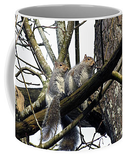 Coffee Mug featuring the photograph Morning Outing by I'ina Van Lawick