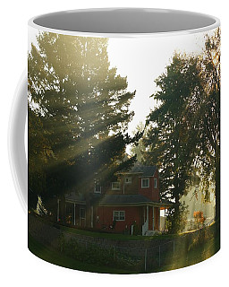 Coffee Mug featuring the photograph Morning Rays by Lynn Hopwood