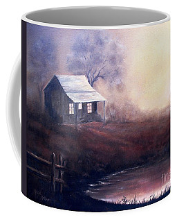 Morning Reflections Coffee Mug by Hazel Holland