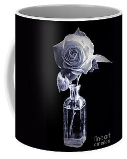 Morning Rose Cyan Coffee Mug