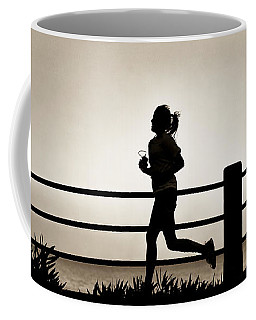 Morning Run Coffee Mug