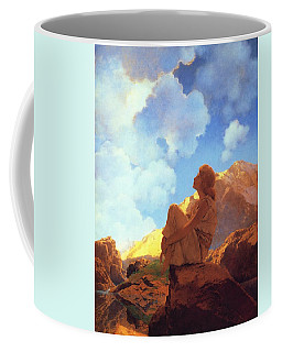 Morning Spring Coffee Mug by Maxfield Parrish