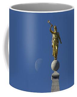 Moroni And The Moon Coffee Mug