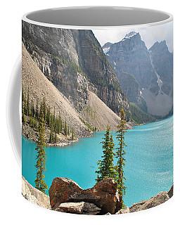 Morraine Lake Coffee Mug by Jim Hogg